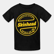 T-shirt enfant Jamaican style Skinhead. Spirit of 69