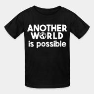 T-shirt enfant Another world is possible