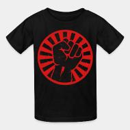 T-shirt enfant Revolutionary fist