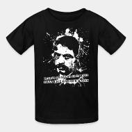 T-shirt enfant Better to die on your feet than live on your knees (Emiliano Zapata)