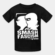 T-shirt enfant Smash fascism