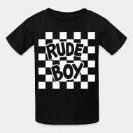 T-shirt enfant Rude boy