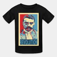 T-shirt enfant Revolution (Emiliano Zapata)