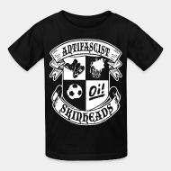 T-shirt enfant Antifascist oi! skinheads