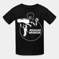 T-shirt enfant Reggae warrior