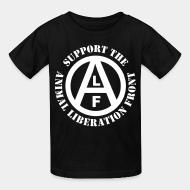 T-shirt enfant Support the Animal Liberation Front (ALF)