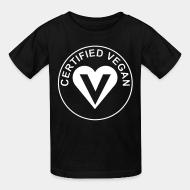 T-shirt enfant Certified vegan