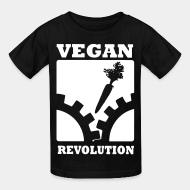 T-shirt enfant Vegan revolution