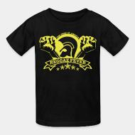 T-shirt enfant The pride of Jamaica reggae fever