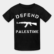 T-shirt enfant Defend Palestine
