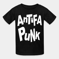 T-shirt enfant Antifa punk