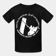 T-shirt enfant Anarchist against the wall
