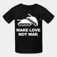 T-shirt enfant Make love not war