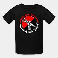 T-shirt enfant Workers of the world unite