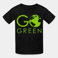 T-shirt enfant Go green