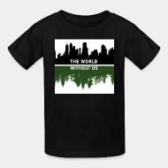 T-shirt enfant The world without us