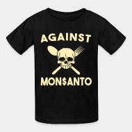 T-shirt enfant Against Mosanto