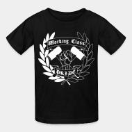 T-shirt enfant Working class pride