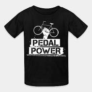 T-shirt enfant Pedal power