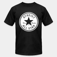 Produit local Atheist all star - free thinker