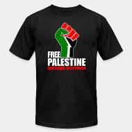 Produit local Free palestine end israeli occupation
