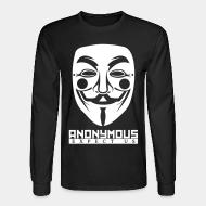 Manches longues Anonymous. Expect us