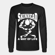 Chandail à manches longues Skinhead a way of life