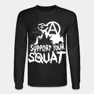 Manches longues Support your squat