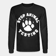 Manches longues Stop animal testing