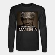 Manches longues Apartheid is a crime against humanity (Nelson Mandela)