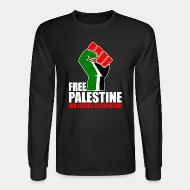 Manches longues Free palestine end israeli occupation