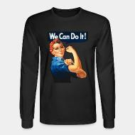 Chandail à manches longues We can do it! (Rosie The Riveter)