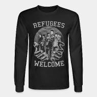 Chandail à manches longues Refugees Welcome