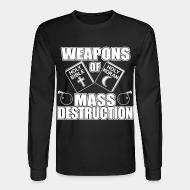 Manches longues Weapons of mass destruction - holy bible holy koran