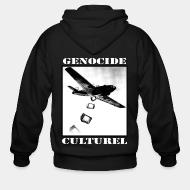 Sweat zippé Génocide culturel