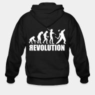 Sweat zippé Revolution evolution