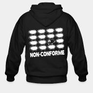 Sweat zippé Non-conforme