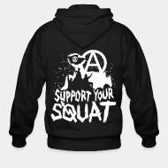 Sweat zippé Support your squat