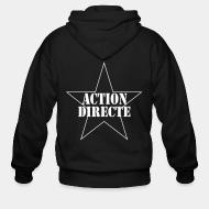 Sweat zippé Action directe