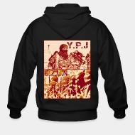 Sweat zippé YPJ - EZLN