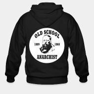 Hoodie à fermeture éclair PROUDHON - Old school anarchist 1809-1865