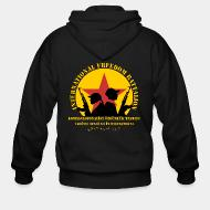 Hoodie à fermeture éclair International freedom battalion