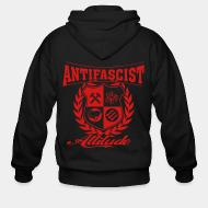 Sweat zippé Antifascist attitude