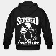 Sweat zippé Skinhead a way of life
