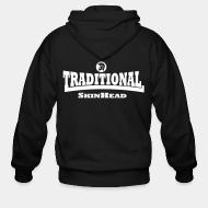 Sweat zippé Traditional SkinHead
