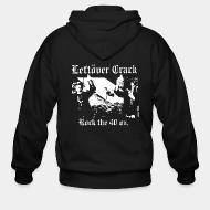 Hoodie à fermeture éclair Leftover Crack - Rock the 40 oz.
