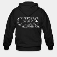 Hoodie à fermeture éclair Cress - UK anarcho punk