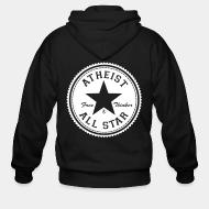 Hoodie à fermeture éclair Atheist all star - free thinker