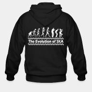 Hoodie à fermeture éclair The evolution of SKA