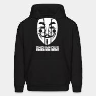 Sweat (Hoodie) Anonymous. Expect us